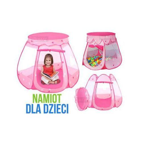 Automatyczny Namiot Dla Dzieci BASIC (różowy).