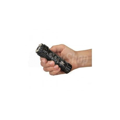 Psp personal security products Latarka led z paralizatorem do odpierania napaści - zap light mini 800 000 v