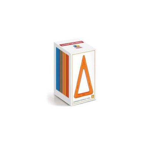Klocki magnetyczne 3D Magformers Trójkąty wysokie 12 elementów. Darmowy odbiór w niemal 100 księgarniach!