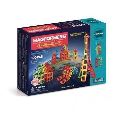 Klocki Magformers Landmark 100 elementów