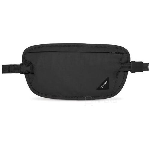Pacsafe Coversafe X100 saszetka podróżna biodrowa / etui podróżne / czarna - Black