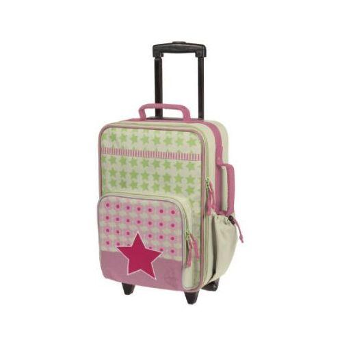 LÄssig walizka podróżna na kółkach starlight magenta marki Lässig