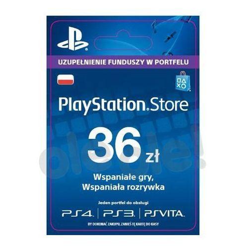 OKAZJA - Sony PlayStation Network 36 zł [kod aktywacyjny] (0000006200061)