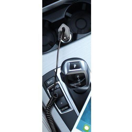 Car Fast Charger - Ładowarka samochodowa Apple 2.4A złącze Lightning MFi (biały), FCCHAPLT24WHI