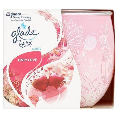 Glade Only Love świeczka zapachowa 120 g + do każdego zamówienia upominek.