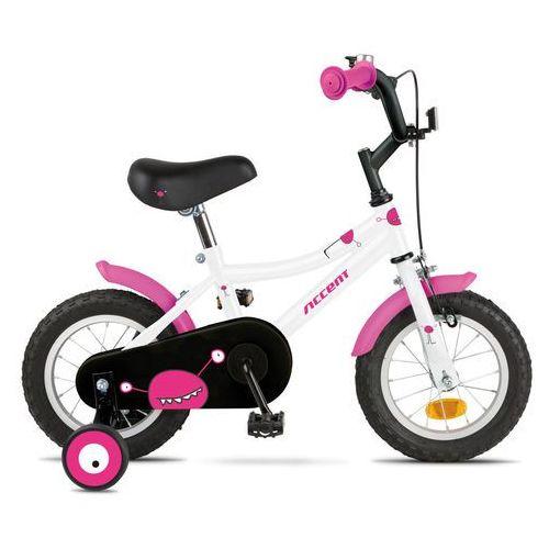 Rower dziecięcy Accent Monster 2015 - Różowo-biały