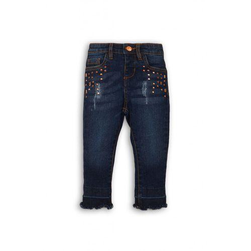 Minoti Spodnie niemowlęce jeansowe 5l35af