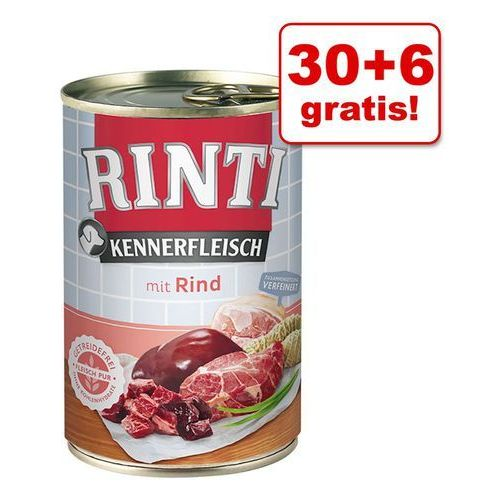 Rinti 30 + 6 gratis! pur, 36 x 400 g - indyk   odbierz teraz 10% rabatu  -5% rabat dla nowych klientów  dostawa gratis + promocje