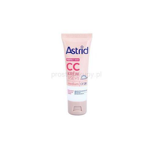 Astrid  perfect skin krem cc spf 20 + do każdego zamówienia upominek.