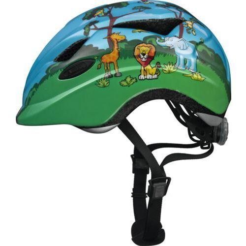 Abus anuky unisex – kask rowerowy dziecięcy anuky, zielony, s (46–52 cm) (4003318081446)