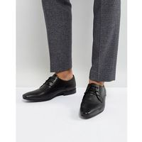 KG By Kurt Geiger Kendall Derby Shoes Black Leather - Black, kolor czarny