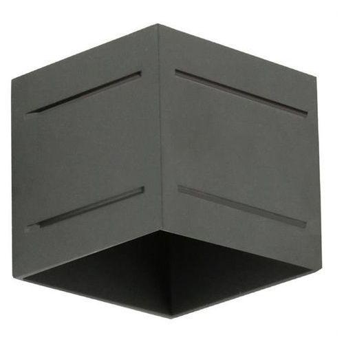 Kinkiet quado pro plus a czarny - czarny marki Lampex