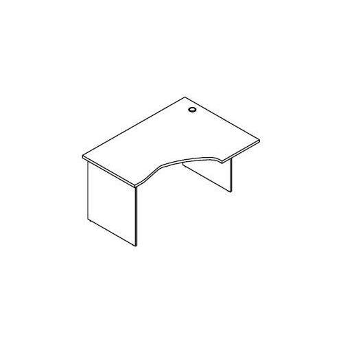 Biurko kątowe BH25 wymiary: 137x100x75,8 cm