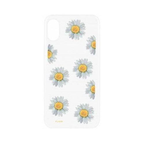 Etui iplate real flower daisy do apple iphone x wielokolorowy (30110) marki Flavr