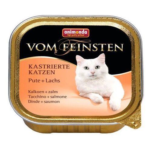 Animonda Vom Feinsten CAT Kastrierte Indyk z łososiem 100g