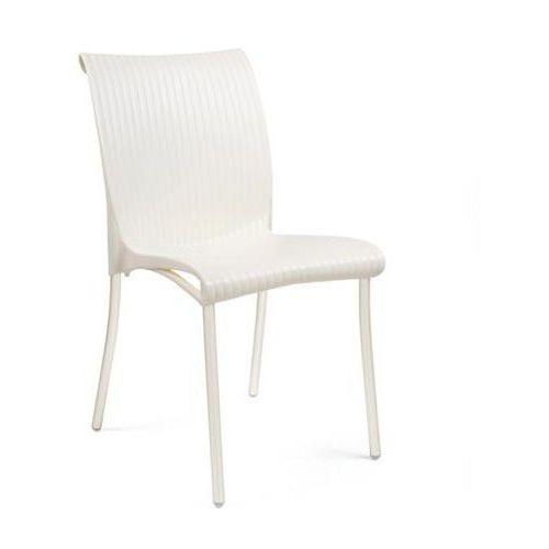 Krzesło Regina ekri, kolor beżowy