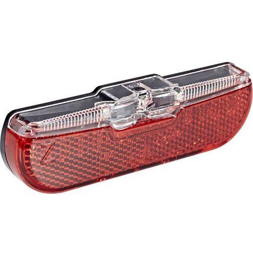 Trelock ls 611 duo flat oświetlenie czerwony/czarny 2018 oświetlenie rowerowe - zestawy