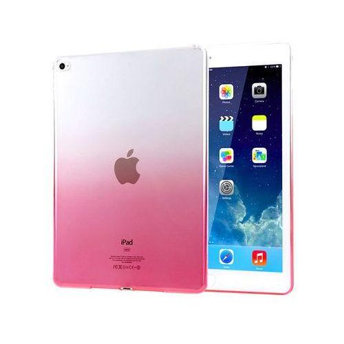 Alogy Etui ombre case apple ipad air 2 silikonowe różowe - różowy