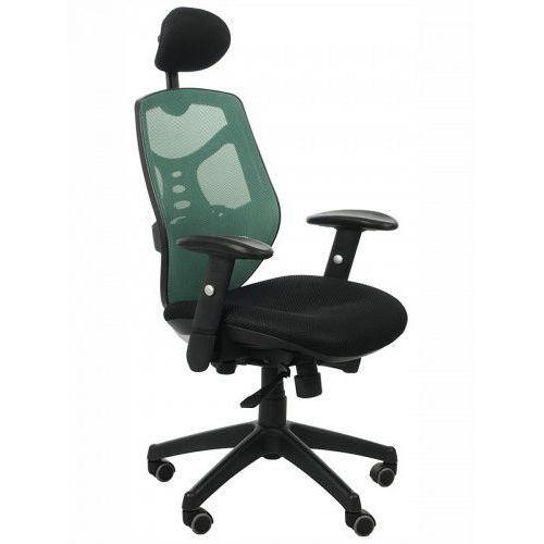 Stema - kb Fotel biurowy gabinetowy kb-8905/zielony - krzesło obrotowe