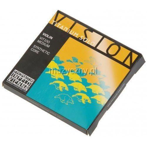 vision titanium solo vit100 struny skrzypcowe 4/4 marki Thomastik