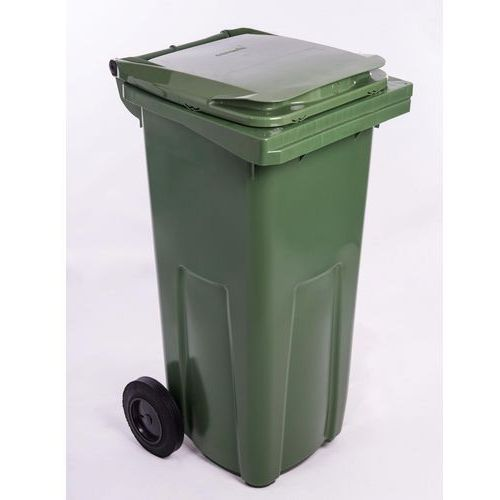 J.A.D. TOOLS plastikowy kosz na odpadki 120 l zielony (8594013798297)