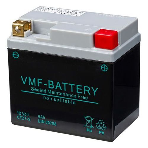 Vmf powersport akumulator agm 12 v, 6 ah, fa ytz7-s (8717545591819)