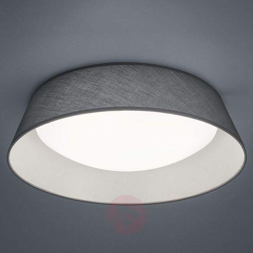 Plafon LAMPA sufitowa PONTS R62871811 Trio natynkowa OPRAWA okrągła LED 18W abażurowa szara