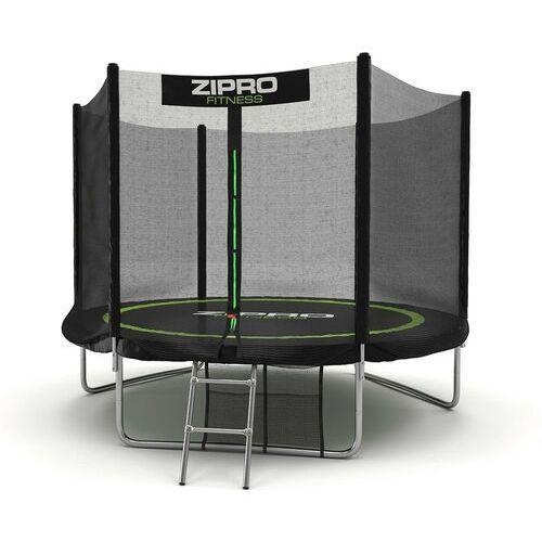 Zipro Trampolina ogrodowa z siatką zewnętrzną 8ft 252 cm