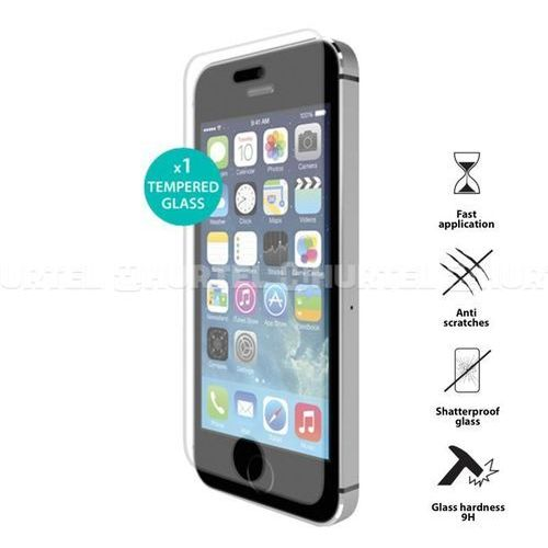 PURO Szkło ochronne hartowane na ekran iPhone 5/5S/5C SDGIPHONE5 - odbiór w 2000 punktach - Salony, Paczkomaty, Stacje Orlen