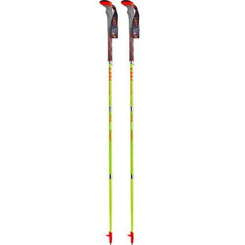 LEKI Micro Carbon Kijki szary/zielony 110cm 2018 Kijki (4028173751938)