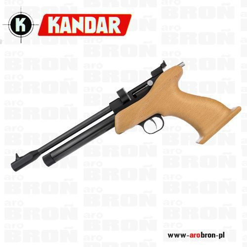 Kandar Wiatrówka pistolet co2  cp1-m 5,5 mm - wielostrzałowy, 9-cio śrutowy magazynek