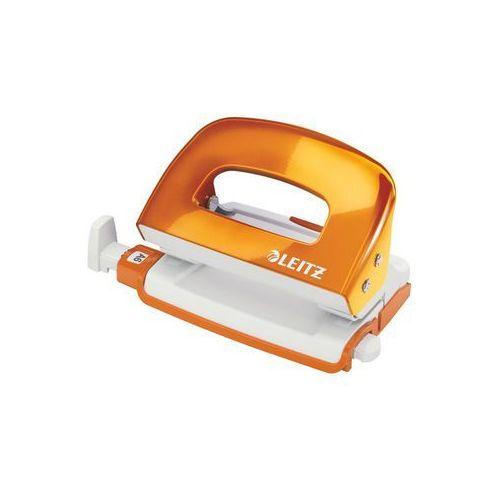 Dziurkacz mini wow 5060-44 pomarańczowy marki Leitz