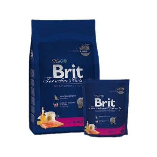 cat premium new adult salmon karma dla kotów łosoś 0.3kg-8kg marki Brit