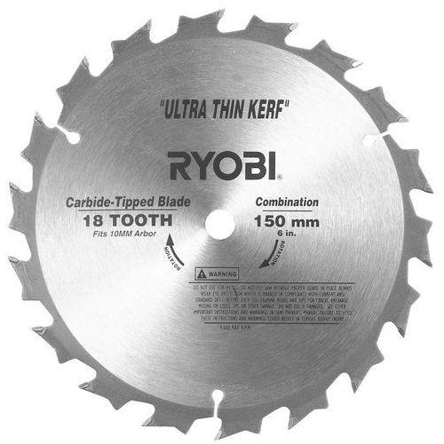 Tarcza do pilarki tarczowej 150 / 10 mm 18t csb150a1 marki Ryobi
