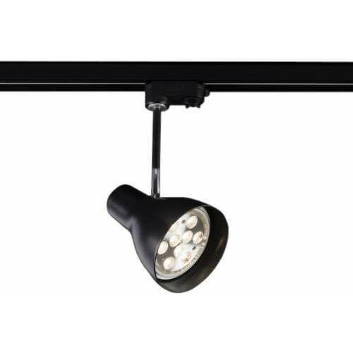 Shilo Reflektorek lampa sufitowa mima 6628 metalowa oprawa regulowana do 3-fazowego systemu szynowego czarna