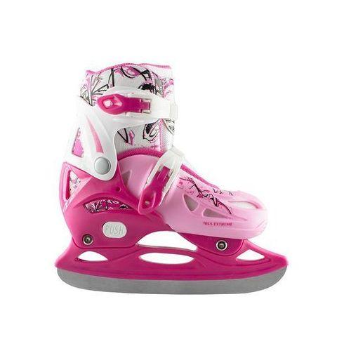 Nh0320 a różowe rozm. s (31-34) łyżwy hokejowe marki Nils extreme