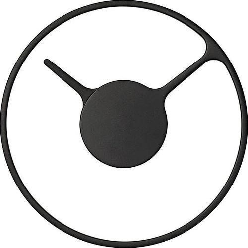 Zegar ścienny m, czarny - marki Stelton