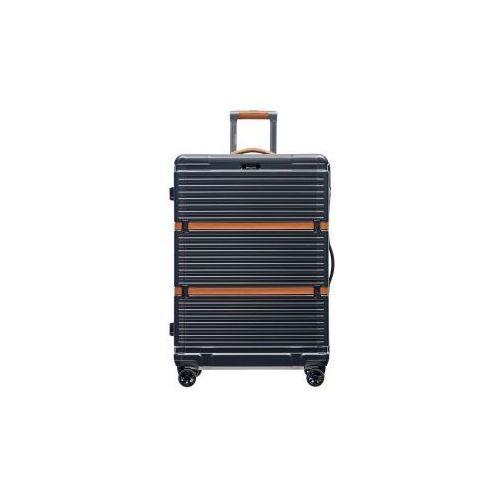 PUCCINI walizka duża twarda z kolekcji OXFORD PC023 materiał policarbon zamek szyfrowy TSA, PC023 A