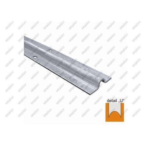 Umakov Prowadnica spodnia - u zn,60x16mm, t3mm, l3m