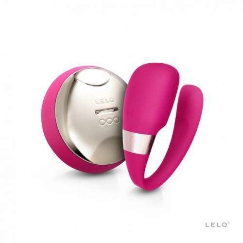 tiani 3 - nowoczesny wibrator dla par - fioletowy marki Lelo