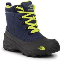 The north face Śniegowce - youth chilkat lace ii nf0a2t5r5uk cosmic blue/lime green