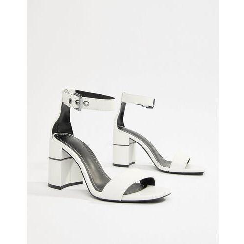 dfe873845ed7 block heel sandal in white - white