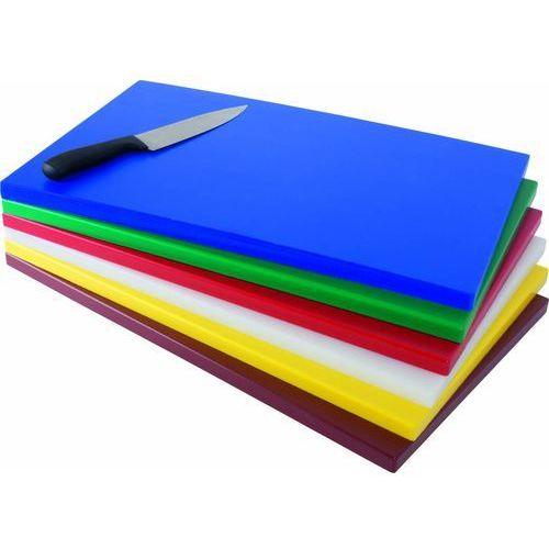 Polietylenowa deska do krojenia gn | 530x325x(h)18mm | różne kolory marki Saro