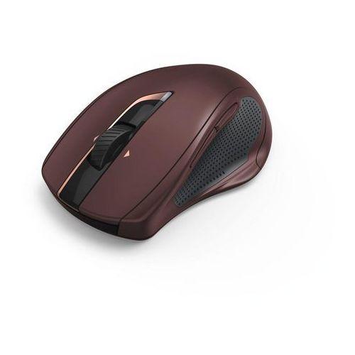 Mysz bezprzewodowa mw-800, bordowa marki Hama