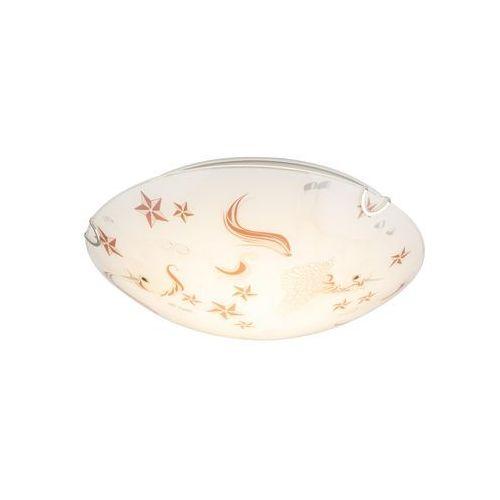 Plafon Globo Natalie 40609-16 lampa sufitowa 1x16W LED biały / różowy (9007371382132)