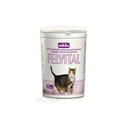Mikita felvital preparat witaminowy z wyciągiem z wątroby dla kotów