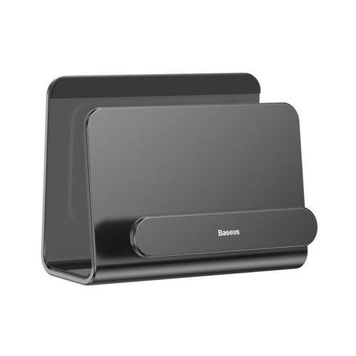 Baseus metal wall mount holder metalowy uchwyt ścienny podstawka na smartfona szary (subg-0g) (6953156288744)