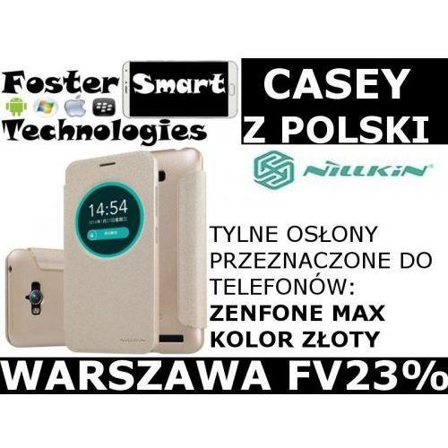 Nillkin CASE KLAPKA ZENFONE MAX GOLD zPL FV23%
