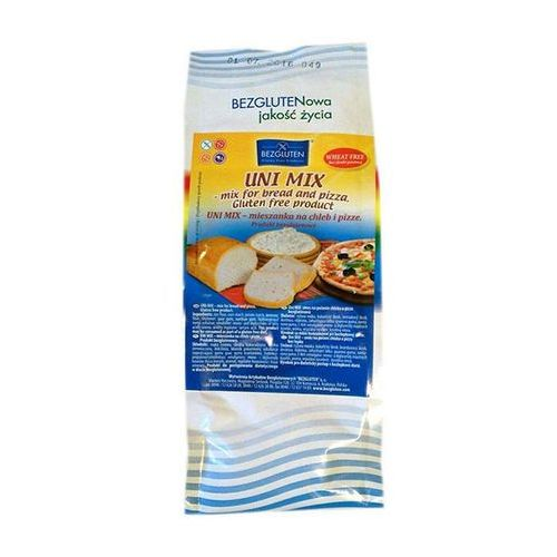 Uni Mix- mieszanka do chleba i pizzy 500g bezglutenowa BEZGLUTEN (5906720573525)