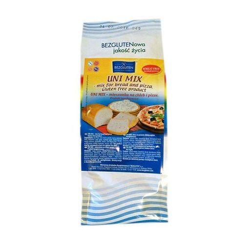 Uni mix- mieszanka do chleba i pizzy 500g bezglutenowa bezgluten marki Bezgluten s.c. (produkty bezglutenowe)